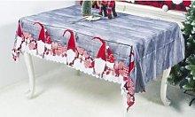 Christmas Novelty Tablecloth: Design F