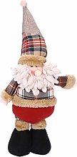Christmas Ornaments Telescopic Santa Claus