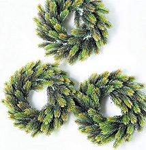 Christmas Pine Flower Wreath Autumn Wreath Home