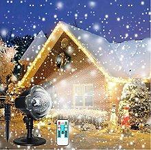 Christmas Projector Light,Snowfall LED Lights