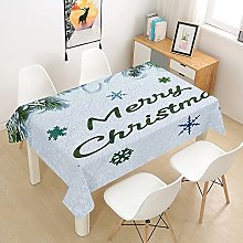 Christmas Rectangle Tablecloths Waterproof