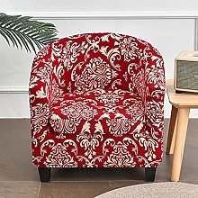Christmas Red Club Chair Slipcover for Living
