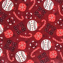 Christmas Red Tablecloth 2019 (160x190 cm oval)