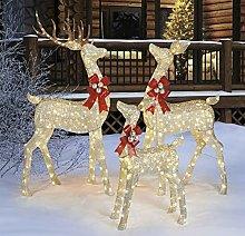 Christmas Reindeer family Indoor Outdoor Family