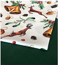 Christmas Reindeer Tablecloth 2021 (140x200 cm