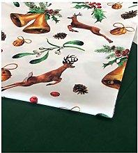 Christmas Reindeer Tablecloth 2021 (160x120 cm