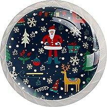 Christmas Santa Claus Tree Elk Bell Elemenst (4