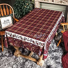 Christmas Series Tablecloth Thickened Waterproof