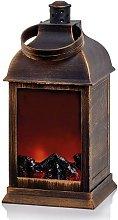 Christmas Shop Fireplace Lantern Decoration (One