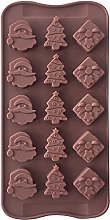 Christmas Silicone Chocolate Mold Cake Decoration