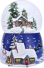 Christmas Snow Globe, Christmas Snow House Crystal