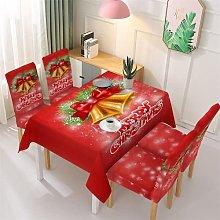 Christmas Snowflake Tablecloth Xmas Dining Chair