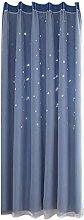 Christmas Starry Sky Voile Curtain - Diadia