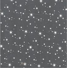 Christmas Stars Poly-Cotton Fabric by The Metre