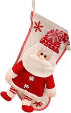 Christmas Stocking Gift Bag Snowman Eve Christmas