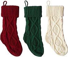 Christmas Stockings, Knitted Stockings Plain
