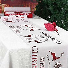Christmas Table Runners, Merry Christmas Printed
