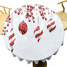 Christmas Tablecloth - 40 Inch Round tablecloth