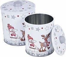 Christmas Themed Cookie Coffee Tea Sugar Jar