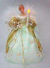 Christmas Timed Angel Tree Topper LED Angel Santa