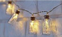 Christmas Tree Jar Lights: Two Sets
