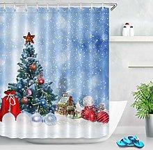 Christmas Tree Waterproof Fabric Snowflake Balls