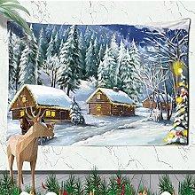 Christmas Wall Mounted Christmas Fireplace Home