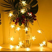 Christmas Window Curtain Star Lights 6M 40LEDs