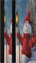 Christmas Winter Snowman Refrigerator Door Handle