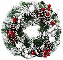 Christmas Wreath Decorations Sale, Small Fire