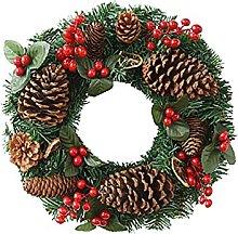 Christmas Wreath Front Door Christmas Decorations