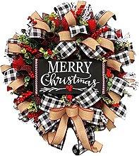 Christmas Wreath Home Decorations Farmhouse