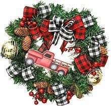 Christmas wreath ornaments Christmas wreath