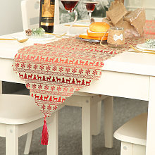 Christmas Xmas Table Cover Tablecloth Runners