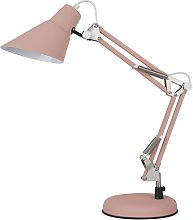 Christy 61cm Desk Lamp Norden Home Finish: Pink