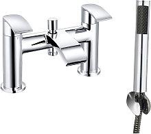 Chrome Bath Shower Mixer Tap Bathroom Faucet and