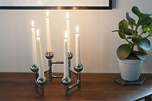 Chrome Candlestick Hexaball