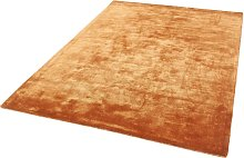 Chrome Copper Rectangle Plain/Nearly Plain Rug
