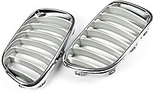 Chrome Front Bumper Hood Kidney Grill Grille