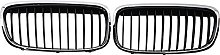 Chrome Front Hood Kidney Grille Grill, ForBMW