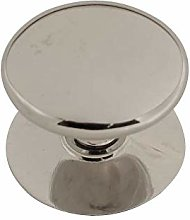 Chrome Plated Victorian Cupboard Knob