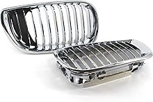 Chrome Silver Front Kidney Grille Grill, for BMW