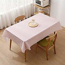 CHSDN Waterproof tablecloth tablecloth rectangular