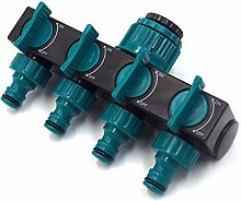 CHSEEO 4 Way Hose Splitter Tap Connector Tap