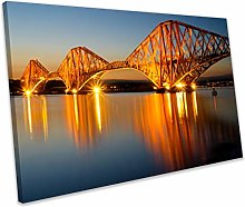chuanghe3943 Unframe Canvas Printing The Forth