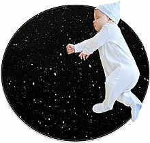 chuangxin Artistic Stars Kitchen rug washable