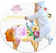 chuangxin Cute Little Princess Kitchen rug