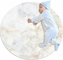 chuangxin Marble White Kitchen rug washable