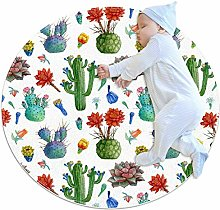 chuangxin Watercolor Realistic Blossom Cactus