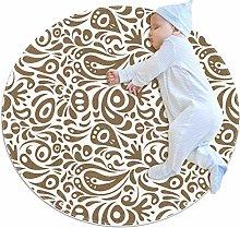 chuangxin White Black Pattern Kitchen rug washable